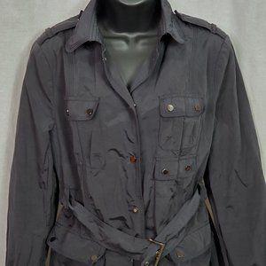 Zara Woman Pea Coat Black